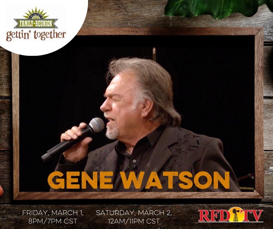 Gene Watson Genewatsonmusic Twitter