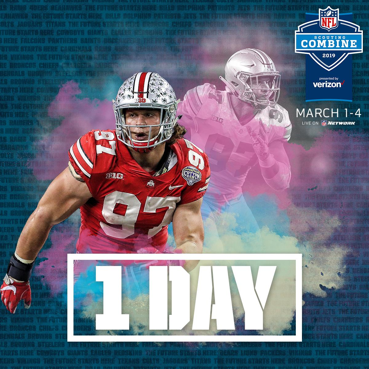 His dad: John Bosa. His brother: @jbbigbear After 17.5 sacks at @OhioStateFB… Nick Bosa's entering the family business. And that business is chasing quarterbacks DOWN. 📺: 2019 #NFLCombine starts tomorrow on @nflnetwork