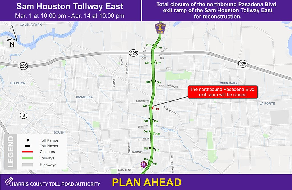 Toll Roads In Houston Map.Hctra Hctra Twitter