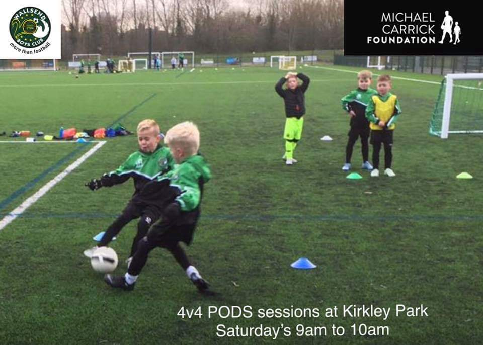 Come and be part of our PODS for 4 to 8 year olds on a Saturday Morning. In association with @_MCFoundation