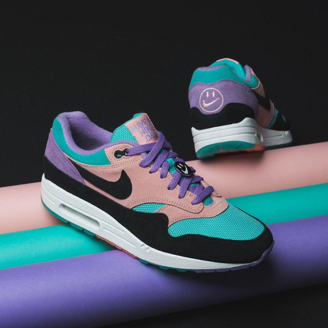 e6600176afdf Everyday is a nice day in a pair of these Special Edition Nike Air Max 1 s