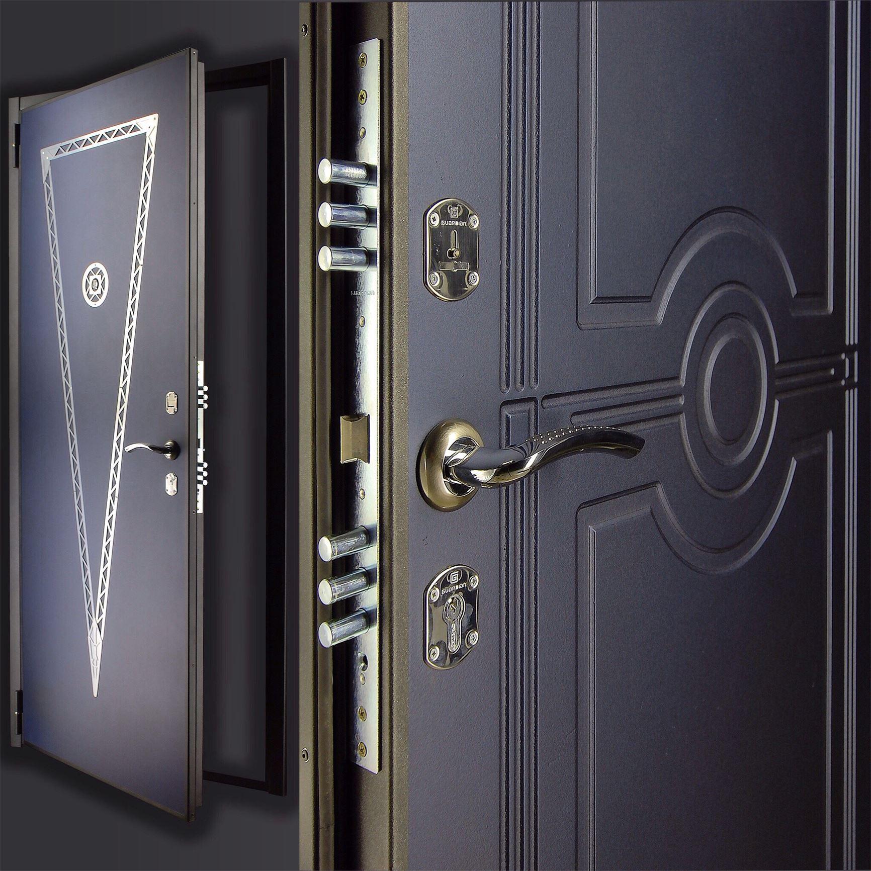 фото дверей из стали самых простых доступных