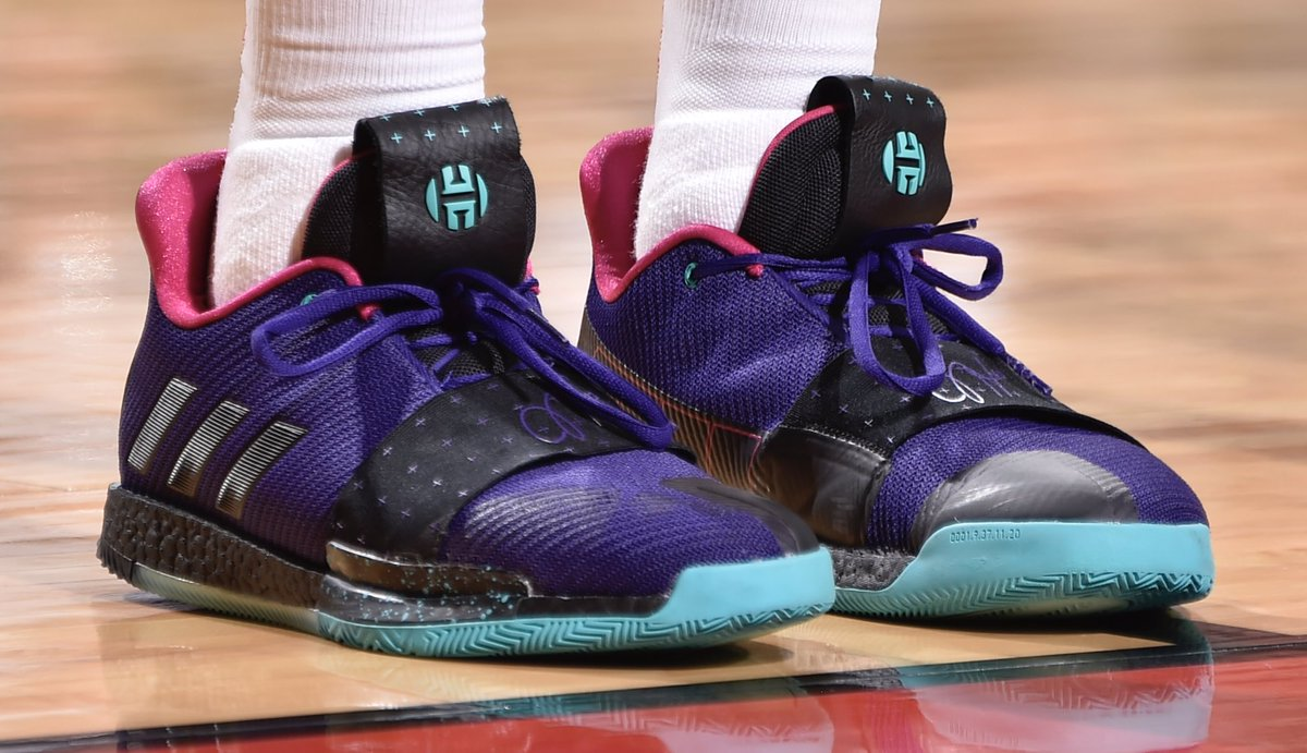 978a46d9f594 jharden13 went off for 58 points in the adidas harden vol 3 bill baptist