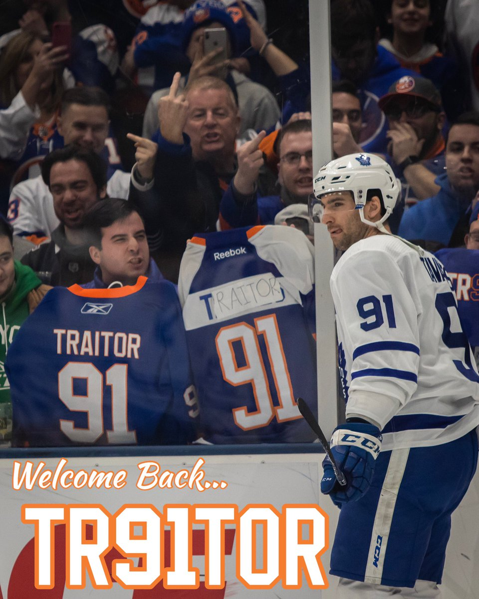 hot sale online a172c 4dfd8 John Tavares jeered by Islanders fans in his return to New York
