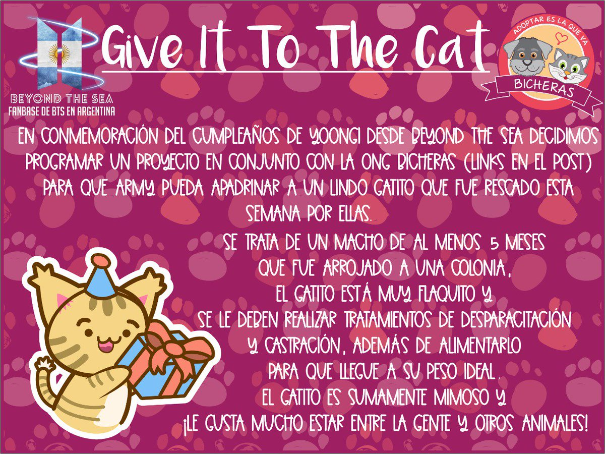 Beyond The Sea On Twitter Giveittothecat Yoongi Proyecto
