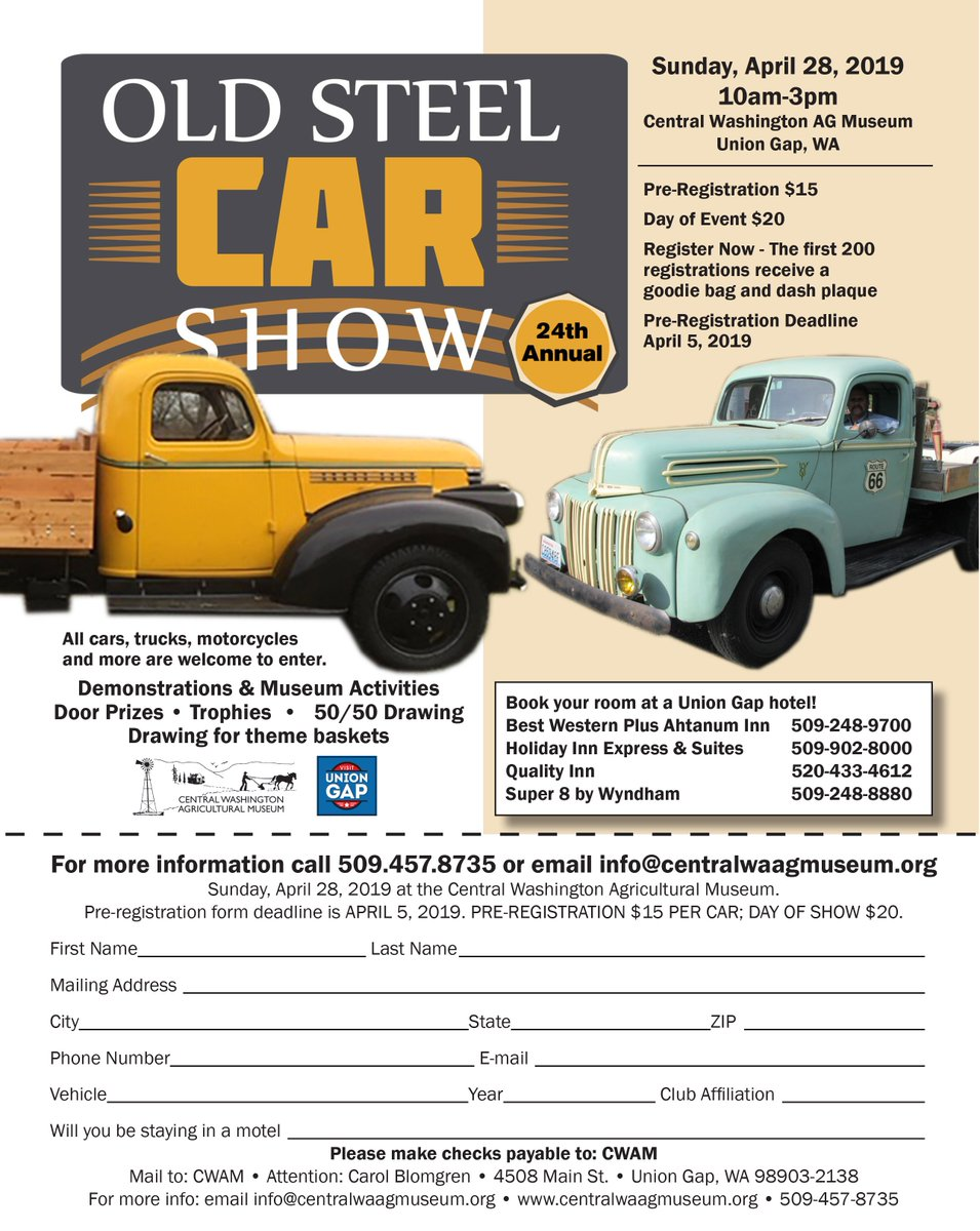 oldsteelcarshow hashtag on Twitter
