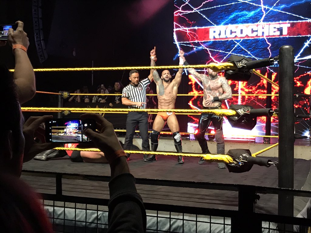 WWE NXT Live Event Results From Columbus (2/28): Johnny Gargano Headlines, Champions Defend, More