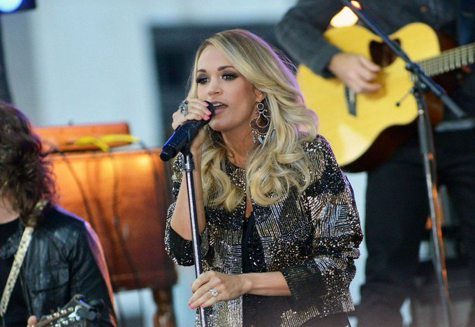 Watch: Carrie Underwood sings Happy Birthday to son.. with a twist
