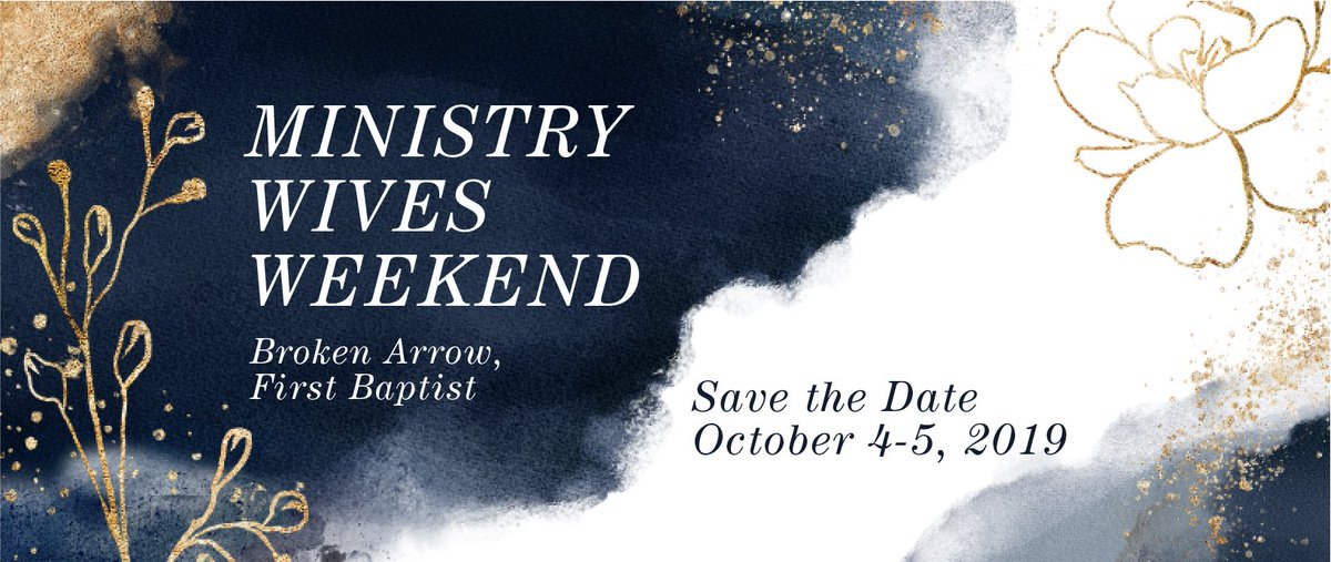 test Twitter Media - Ministry Wives, save the date for a weekend away in Broken Arrow!  🗓October 4-5 2019  If you aren't in our Ministry Wives FB Group, join nearly 700 other ministry wives for event details, prayer & more! https://t.co/PlWOQFhV9g  Pastor, make sure your wife knows about this event! https://t.co/Nnb7ZORiHw