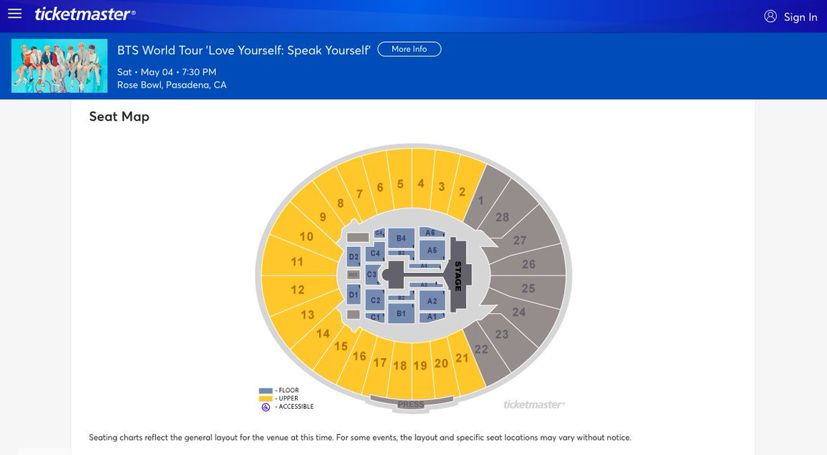 Us Bts Army On Twitter Seating Chart For Bts Speak