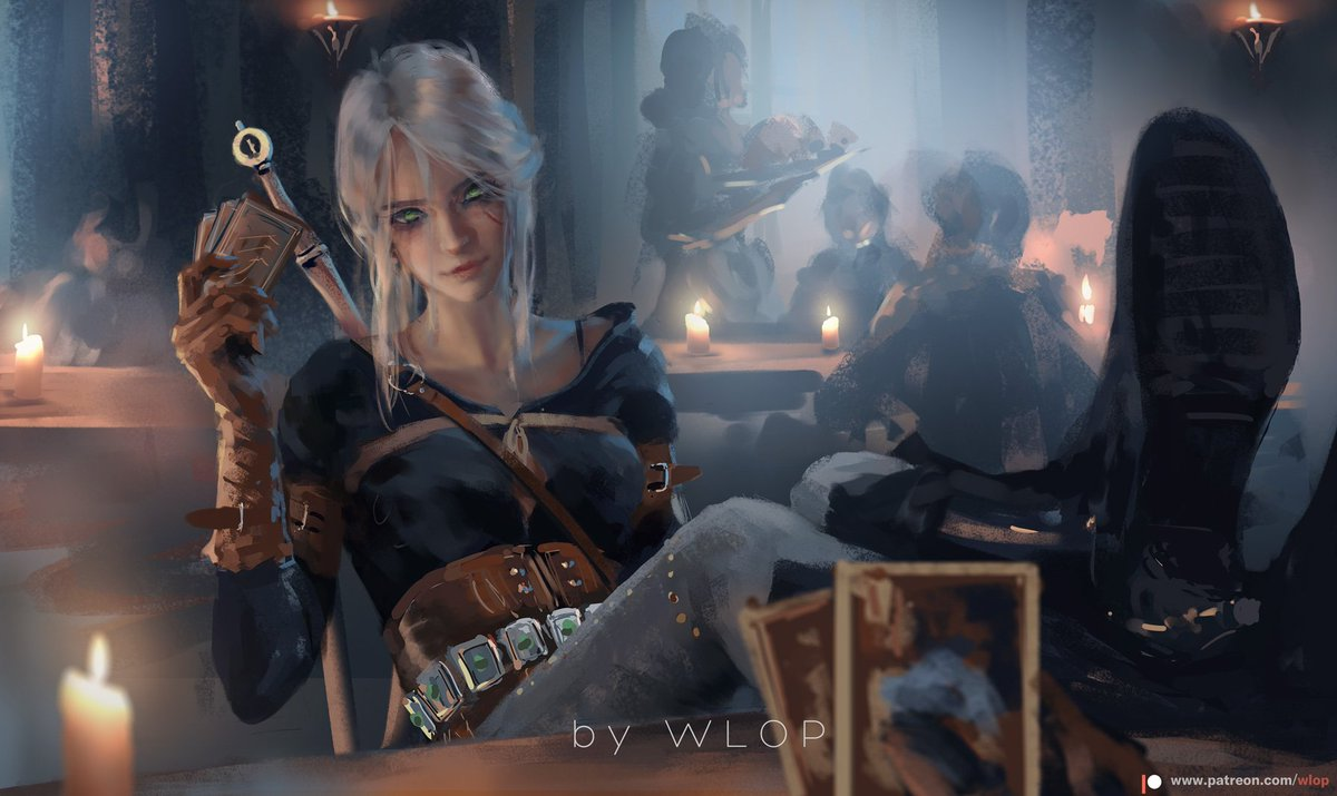 How about a round of Gwent? patreon.com/posts/25041403