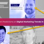 """💵 @Larrykim sold @WordStream for $150M👑 He's one of the best-known names in marketing, writing for @CNBC @Inc @HubSpot & more🚨🚨🚨‼️ And today I was in an """"expert predictions"""" list with Larry🔗 https://t.co/T2O1XVKCZQ🚨🚨🚨😍 Thanks to @vocso for including me"""