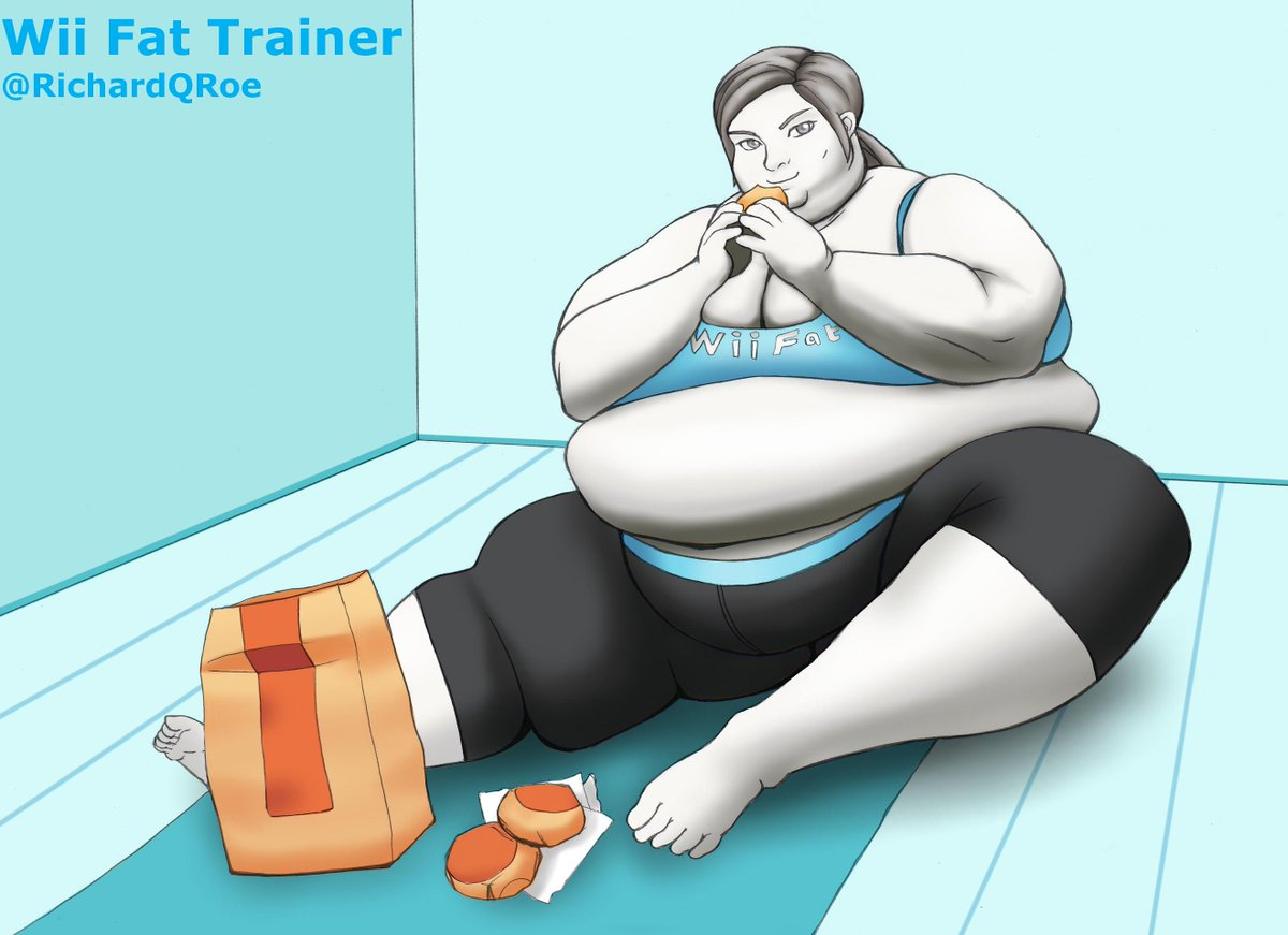 Happens. can wii fit trainer fat really. happens