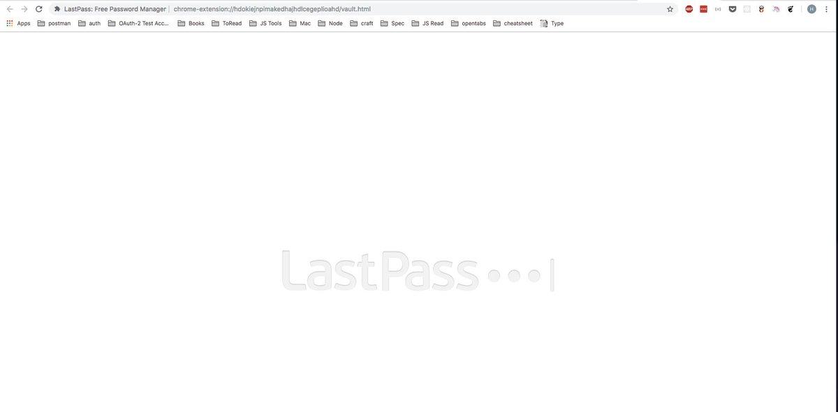 LastPass Status on Twitter: