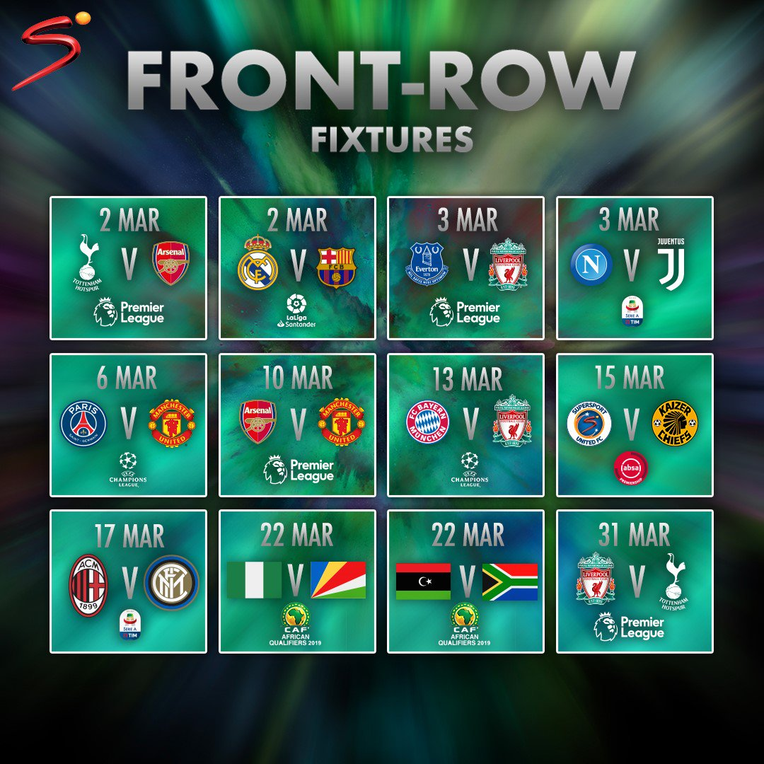 get ready for football madness on supersport this march