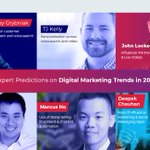 19 Expert #Predictions on #Digital #Marketing #Trends in 2019 https://t.co/KiQtxP6dFr via @vocsoContributors @larrykim, @grybniak, @marcushokh, @getmxt @Lockedown_  @B_Puryear @YPSUK, @MikeKhorev, @aurorameyer @deepakchauhan_v @chrisdunne4, @onqmarketing, @RoseMcGrory