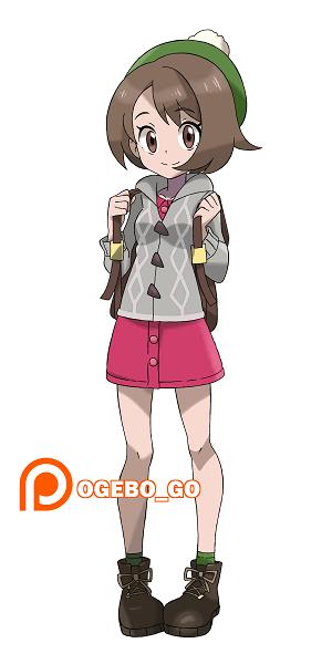 Pokemon Sword And Shield Female Trainer Character Fanart ポケモン