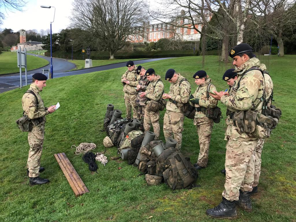 "Britannia Royal Naval College on Twitter: ""A beautiful day for #Training today. BLAKE 19/1 are conducting the last few #leadership tasks of the week.… """