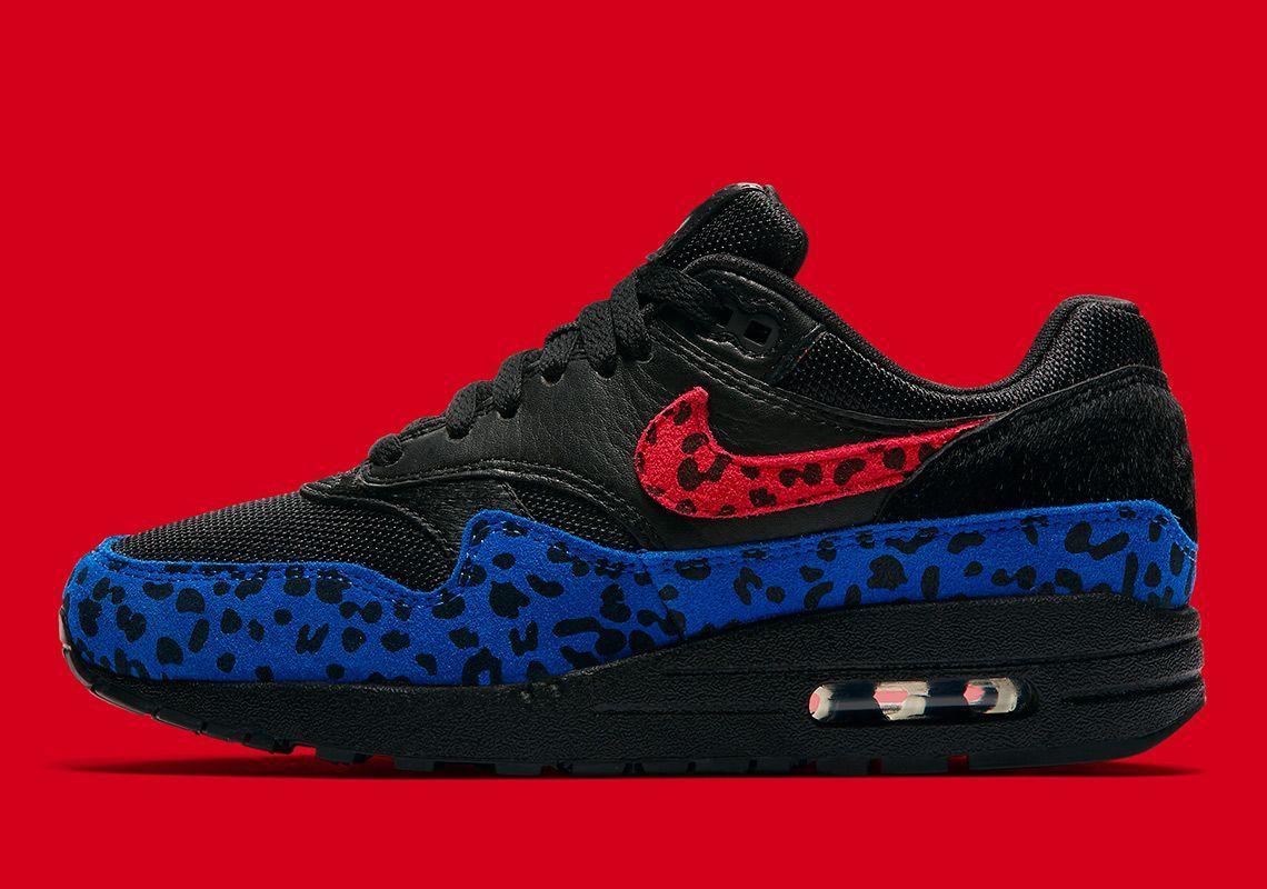 nike air max 98 blue leopard