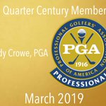 Image for the Tweet beginning: Andy Crowe, PGA is the