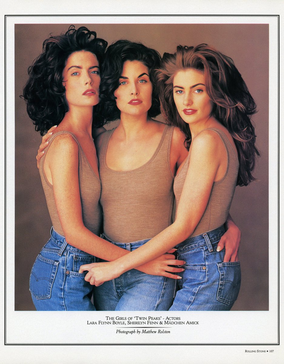 The Mauve Zone On Twitter An Alternate Textless Version Of The Women Of Twin Peaks Cover Originally Featured On Rollingstone October 4th 1990 From An Australian Edition Twinpeaks Laraflynnboyle Sherilynfenn1 Madchenamick Https T Co