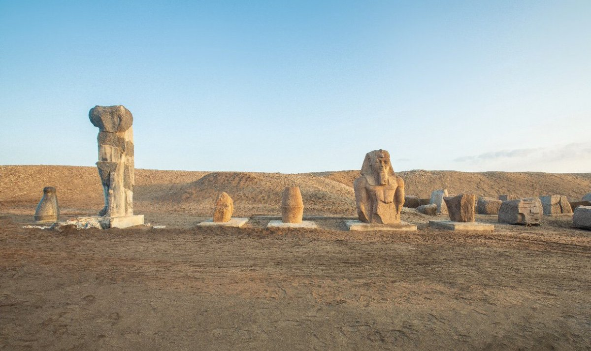 Ministry Of Tourism And Antiquities On Twitter Ministerofantiquities Prof Khaledelenany Met With French Ambassador To Egypt To Discuss The Restoration Development Of Tanis Sanelhagar Archaeological Site To Be More Tourist Friendly