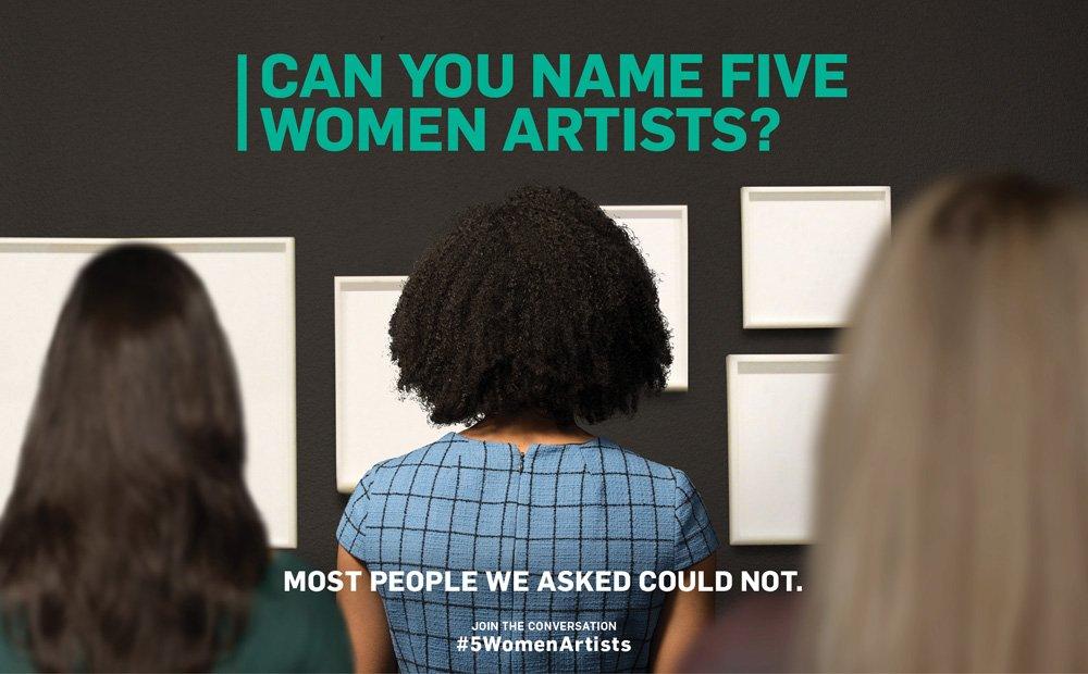 Kicking Off #5WomenArtists 2019!