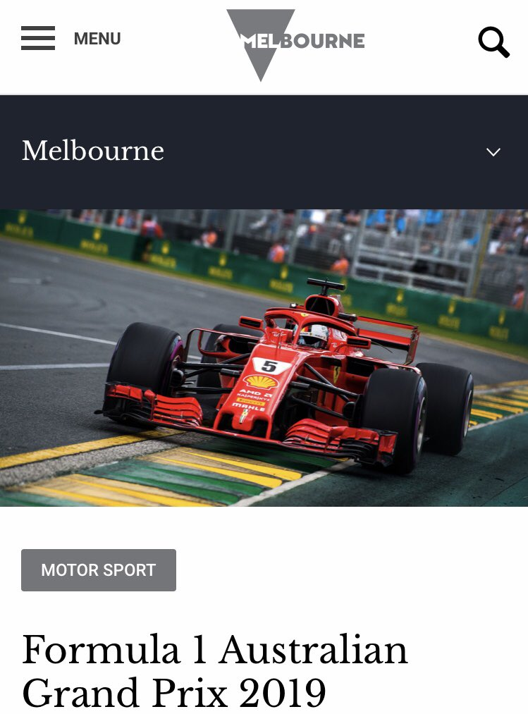#QATA18  CONGRATULATIONS to our @F1 @AustralianGrand bringing home a SILVER AWARD @QATAINFO in the Major Festival and Events Category @Melbourne @visitvictoria @MartinPakulaMP #AusGP https://t.co/3MwOfIn5UV