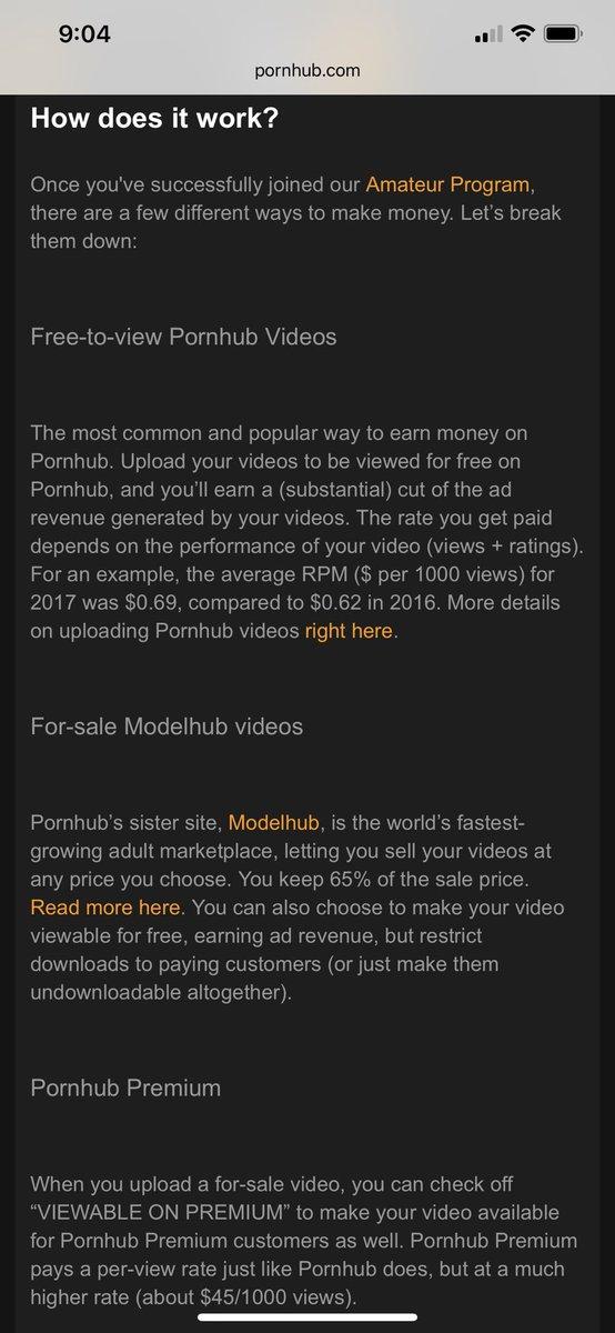 make money from pornhub