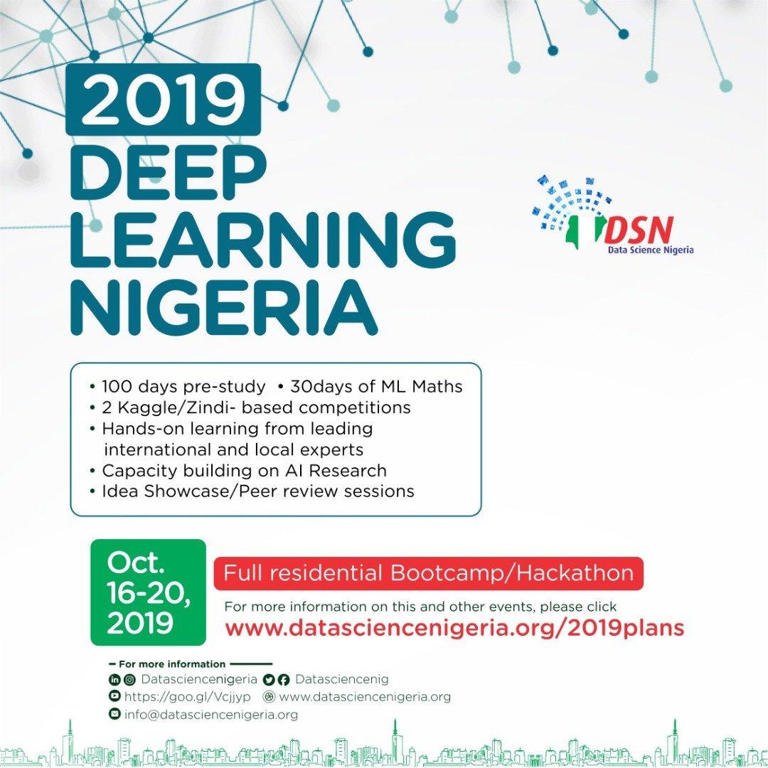 DataScienceNigeria on Twitter: