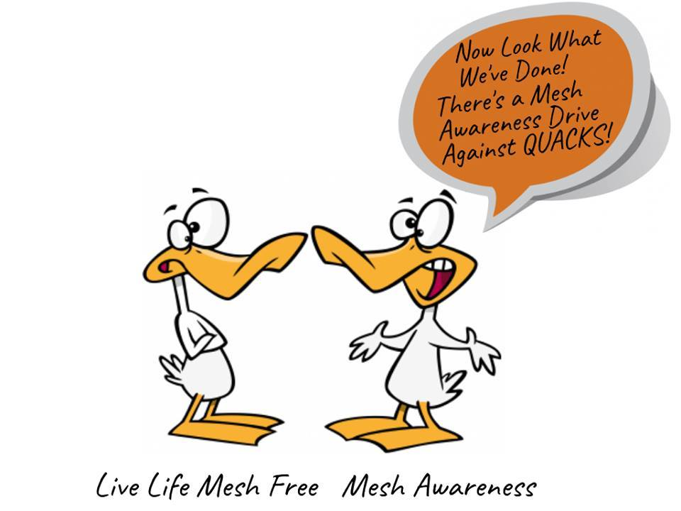 """Quack Quack Quacks everywhere #Doctors embedding permanent pieces of #Plastic #Mesh into the Human Body and call it a """"Gold Standard"""" Treatment #FactCheck #Plastic is #Toxic #Poison to ALL Living Beings No Matter how it is #Biochemically Engineered! #PlasticToday #FridayFeeling"""