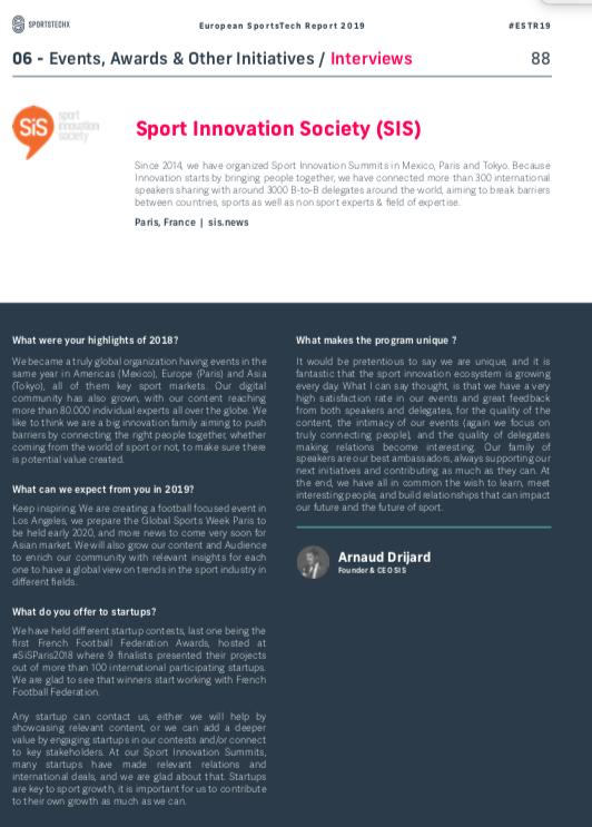 9d533029c8d Sport Innovation Society on Twitter: