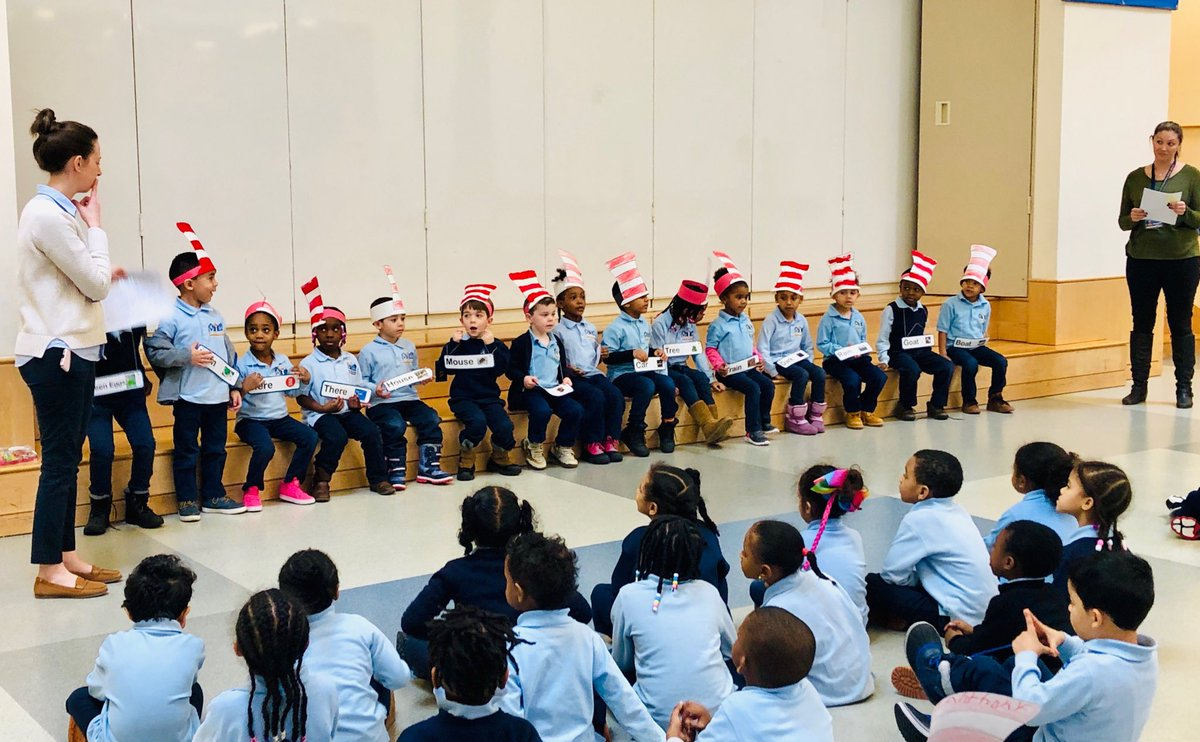 Happy Dr. Seuss Day with the awesome K1 students and teachers @BRCPS https://t.co/O8feTDcxS3