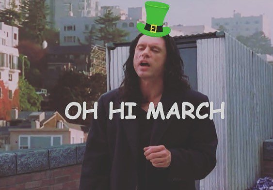 Oh hi March !