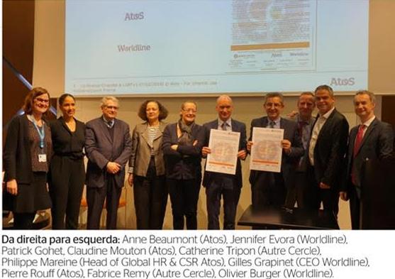 A Atos e a Worldline assinaram um termo dos Padrões de Conduta para Empresas,...