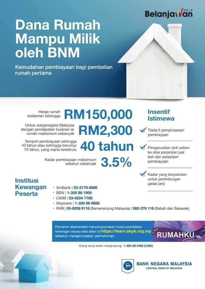 Binyamin Alsagoff بنيامين On Twitter Kalau Ikut Penanda Aras Dari Bank Negara Malaysia Harga Rumah Mampu Milik Harus Bawah Rm150k Https T Co Wm2l4fjuxn
