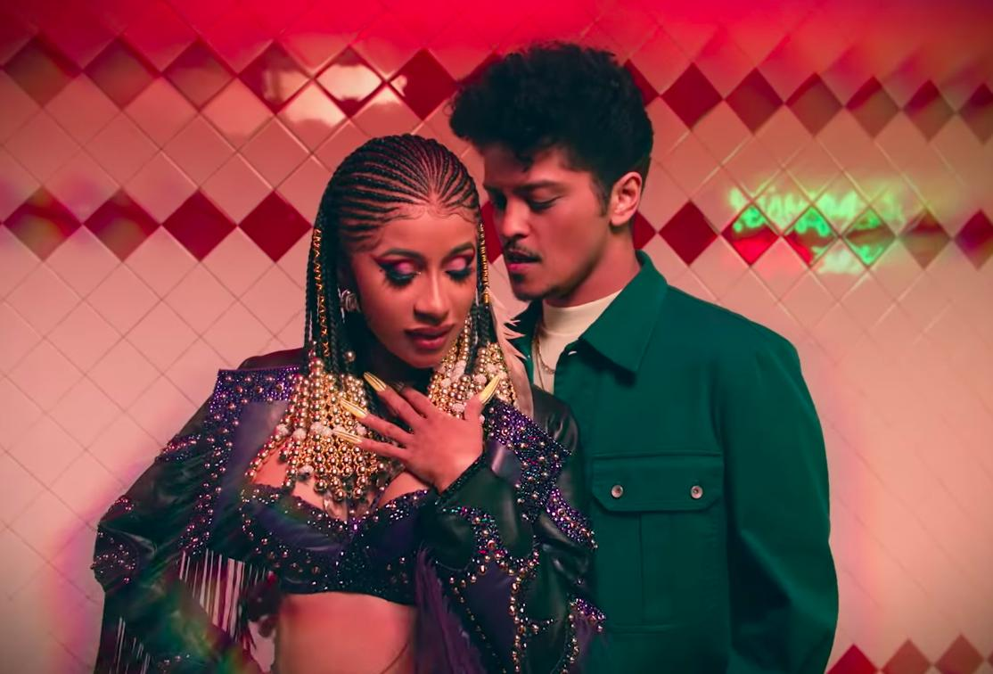 44e7395ca2ed cardi b and bruno mars take the streets of la in their please me video watch