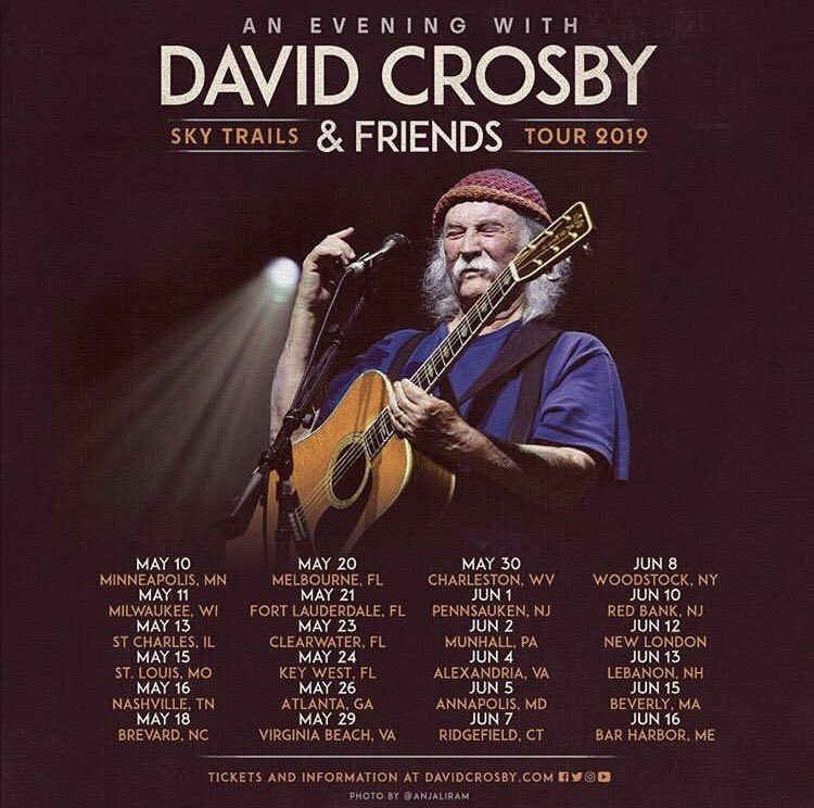 Heading out this spring with @thedavidcrosby and the Sky Trails family. See you soon, 'Murrica. - #davidcrosby #davidcrosbyandfriendstour #jeffpevar #jamesraymond #steviedistanislao #maileisz #michellewillis #skytrails <br>http://pic.twitter.com/YByBJzlvuE