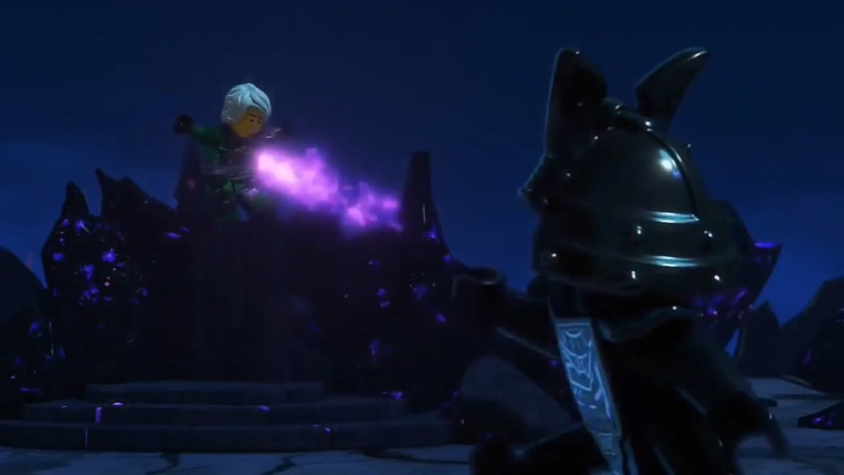 @brothershageman @TommyAndreasen I just realized something... Did Lloyd defeat Garmadon using his own trick... The art of the silent fist?!?
