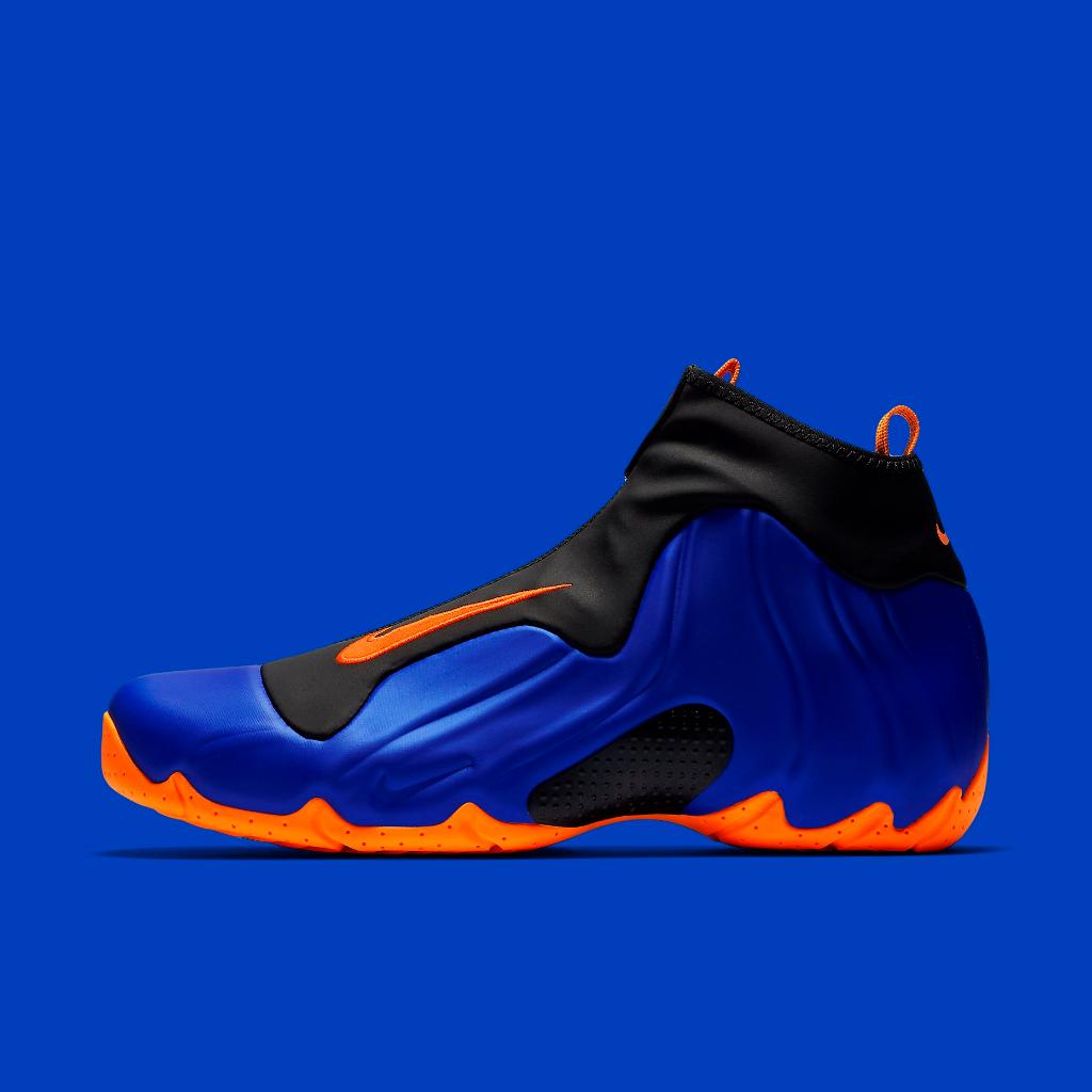 premium selection e7124 8d225 knicks vibes nike air flightposite racer blue available now in store and  online