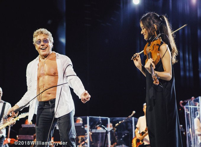 Happy 75th Birthday, Roger Daltrey!