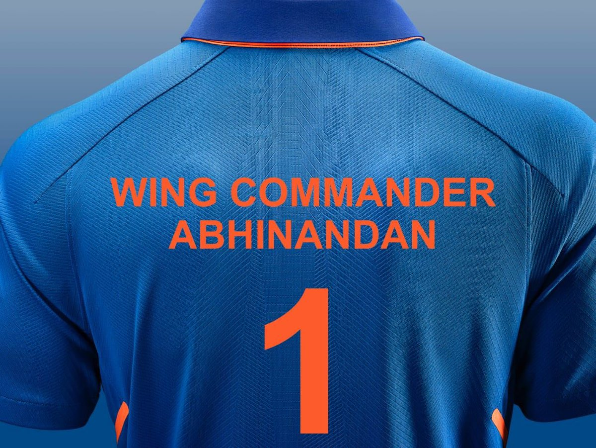 #WelcomeHomeAbhinandan You rule the skies and you rule our hearts. Your courage and dignity will inspire generations to come 🇮🇳#TeamIndia