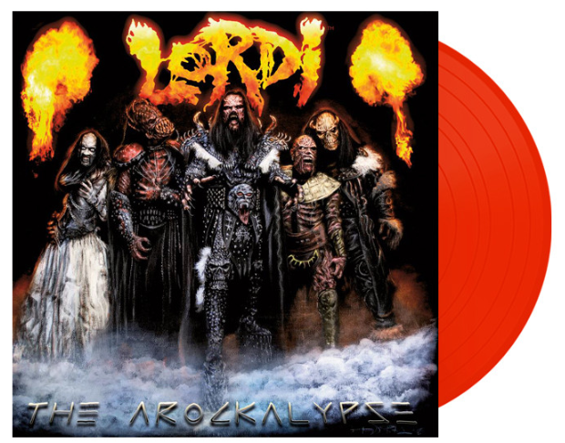 """In the celebration of #RecordStoreDay April 13th, there will be a new RED edition vinyl of """"The Arockalypse"""" to pre-order from Record Shop X!  All vinyls will be handsigned by Mr Lordi, and are limited to a number of 300. Don't miss out, get yours now!  https://t.co/jKZcxSuOxl https://t.co/HFM2MVRGby"""