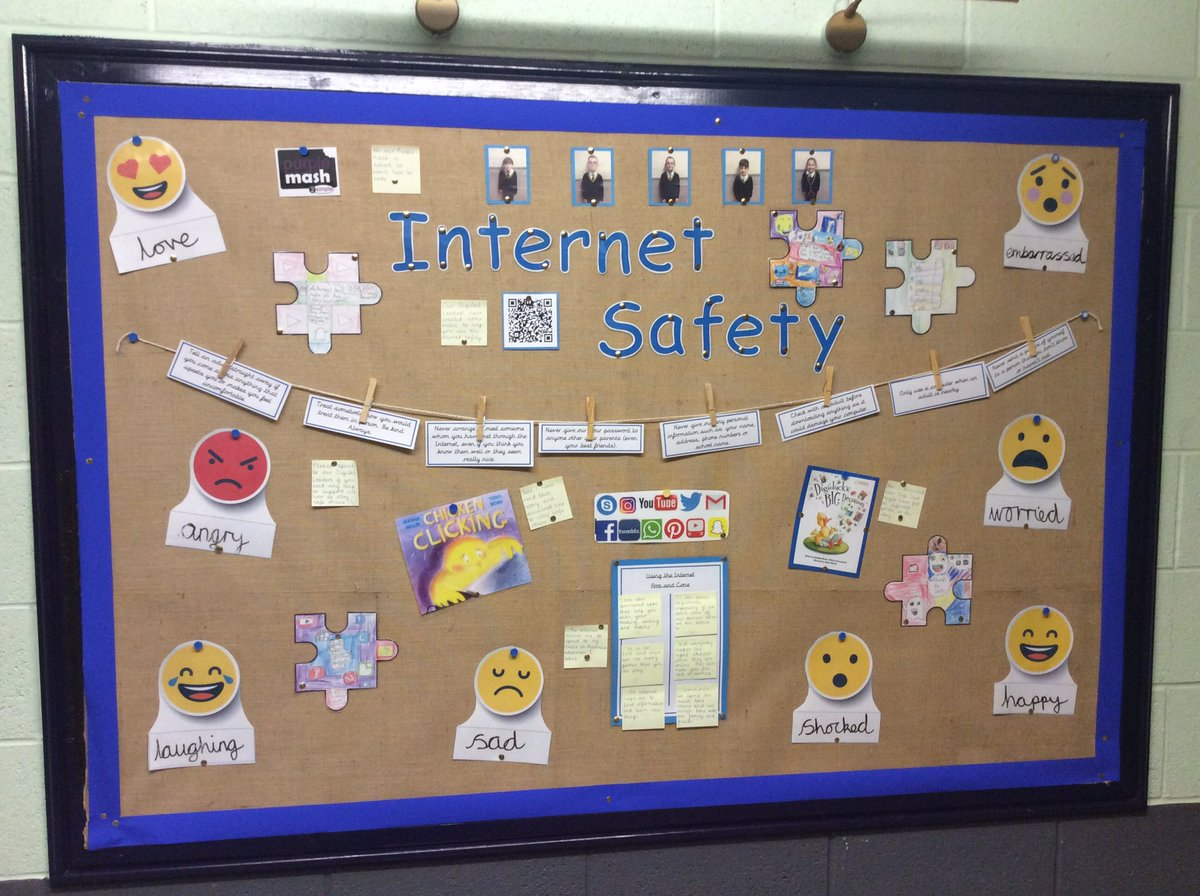 Please speak to Mr West, Miss Barnes or a Digital Leader if you have a question or need any help about how to stay safe online. 📲😊 #Computing #InternetSafety