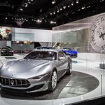 Image for the Tweet beginning: The Maserati Alfieri from 2014's
