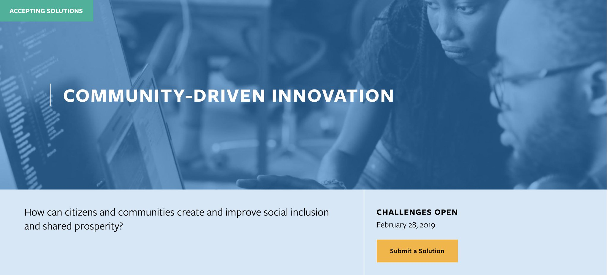 Solve Challenge: Community - Driven Innovation