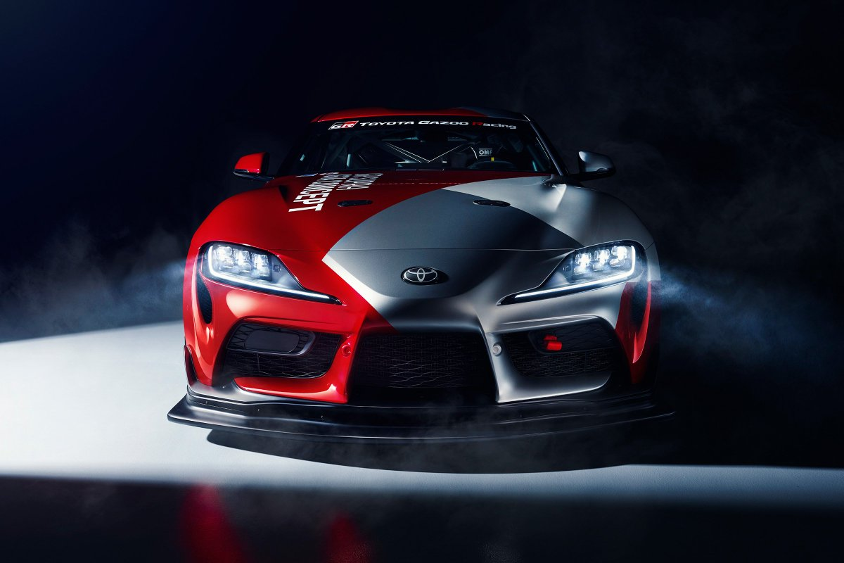 7e3278bfa717 toyota has unveiled the gazoo racing supra gt4 concept set to make a geneva  debut