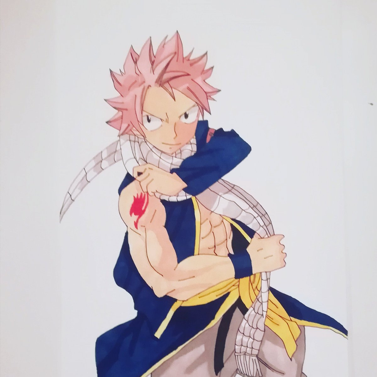 Mounch Draw On Twitter Natsu Fairy Tail Dessin Manga