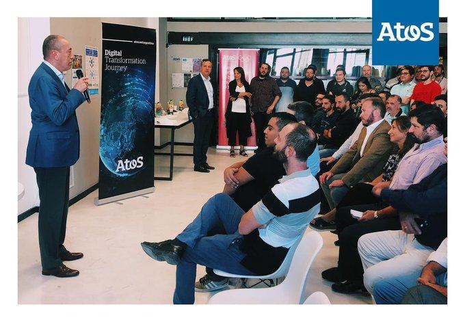 😃Con la presencia de Yves Guillaumot, CEO de Atos SAM, realizamos ayer la primera...