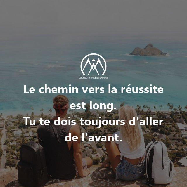 Objectif Millionnaire Twitterissä Le Chemin Vers La